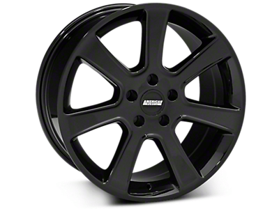 Black S197 Saleen Style Wheels<br />('15-'18 Mustang)