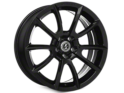 Black Shelby Super Snake Wheels<br />('05-'09 Mustang)