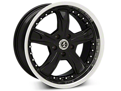 Black Shelby Razor Wheels<br />('15-'18 Mustang)