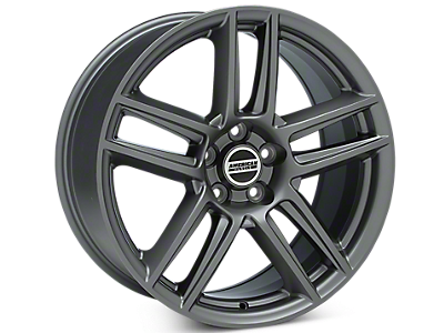 Charcoal Boss Laguna Seca Style Wheels<br />('05-'09 Mustang)