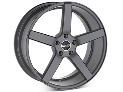 Charcoal MMD 551C Wheels<br />('15-'17 Mustang)
