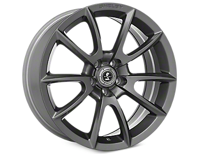 Charcoal Shelby Super Snake Wheels<br />('10-'14 Mustang)