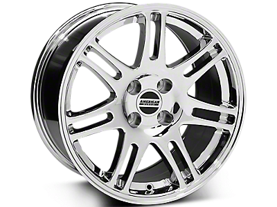 Chrome 10th Anniversary Style Wheels<br />('79-'93 Mustang)