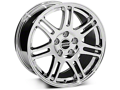 Chrome 10th Anniversary Style Wheels<br />('94-'98 Mustang)