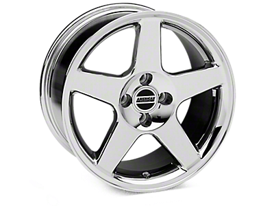 Chrome 2003 Cobra Wheel<br />('79-'93 Mustang)