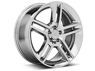 Chrome 2010 GT500 Style Wheels<br />('10-'14 Mustang)