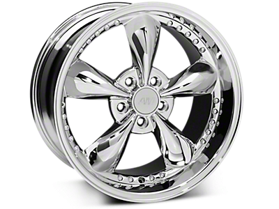 Chrome Bullitt Motorsport Wheels<br />('10-'14 Mustang)