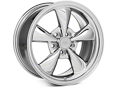 Chrome Bullitt Wheels<br />('79-'93 Mustang)