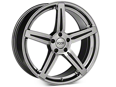 Chrome Foose Enforcer Wheels<br />('05-'09 Mustang)