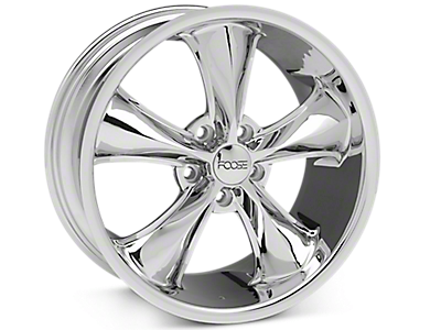 Chrome Foose Legend Wheels<br />('15-'18 Mustang)