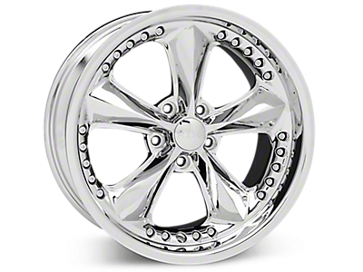 Chrome Foose Nitrous Wheels<br />('10-'14 Mustang)
