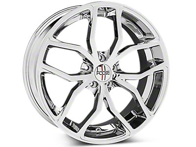 Chrome Foose Outcast Wheels<br />('15-'17 Mustang)