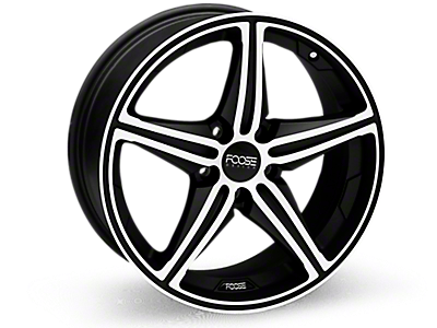 Machined Foose Speed Wheels<br />('10-'14 Mustang)