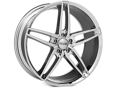Chrome Foose Stallion Wheels<br />('15-'18 Mustang)