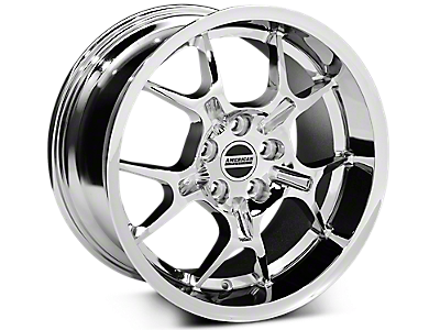 Chrome GT4 Style Wheels<br />('99-'04 Mustang)