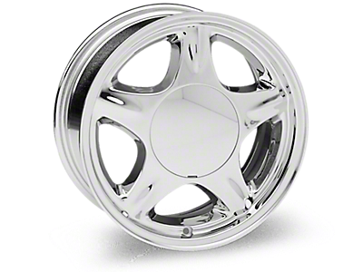 Chrome Pony Wheels<br />('79-'93 Mustang)