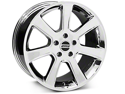 Chrome S197 Saleen Style Wheels<br />('05-'09 Mustang)