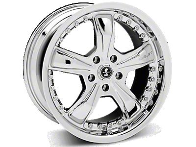 Chrome Shelby Razor Wheels<br />('15-'19 Mustang)
