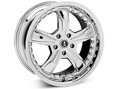 Chrome Shelby Razor Wheels<br />('15-'19 Mustang)