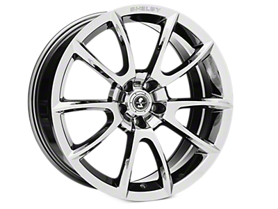 Chrome Shelby Super Snake Wheels<br />('05-'09 Mustang)