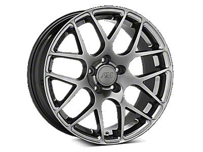 Dark Stainless AMR Wheels<br />('15-'17 Mustang)