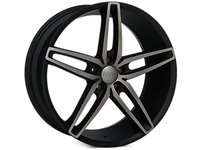 Double Dark Foose Stallion Wheels<br />('10-'14 Mustang)