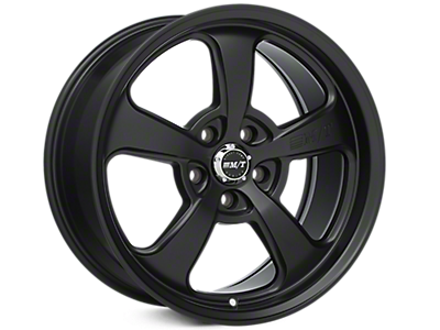 Flat Black Mickey Thompson Street Comp SC-5 Wheels<br />('15-'19 Mustang)