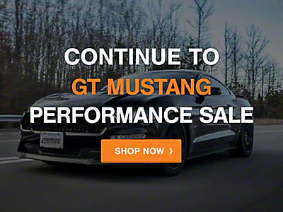 Mustang 2005-2009 Cyber Monday: Performance GT