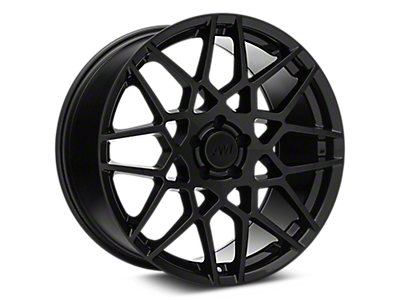 Gloss Black 2013 GT500 Style Wheels<br />('10-'14 Mustang)