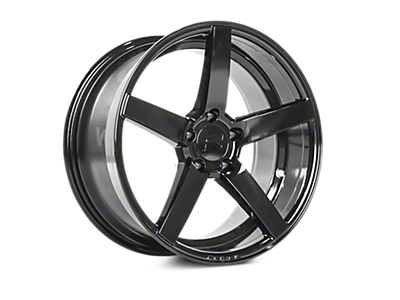Gloss Black Rovos Durban Wheels<br />('15-'19 Mustang)