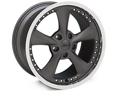 Graphite Bravado Americana II Wheels<br />('05-'09 Mustang)