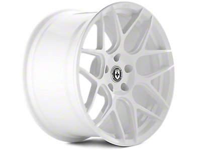 Great White HRE Flowform FF01 Wheels<br />('10-'14 Mustang)