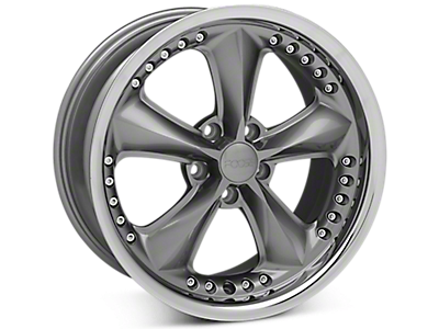 Gray Foose Nitrous Wheels<br />('94-'98 Mustang)