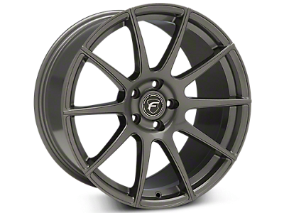 Gunmetal Forgestar CF10 Wheels<br />('15-'19 Mustang)