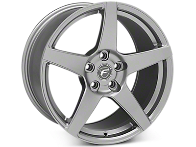Gunmetal Forgestar CF5 Wheels<br />('15-'19 Mustang)