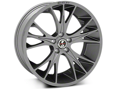 Gunmetal Shelby CS1 Wheels<br />('10-'14 Mustang)