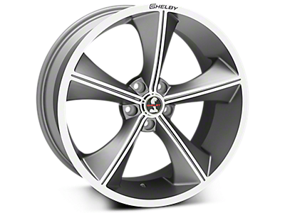 Gunmetal Shelby CS70 Wheels<br />('15-'18 Mustang)