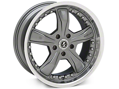 Gunmetal Shelby Razor Wheels<br />('99-'04 Mustang)