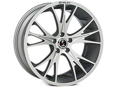 Hyper Silver Shelby CS1 Wheels<br />('10-'14 Mustang)