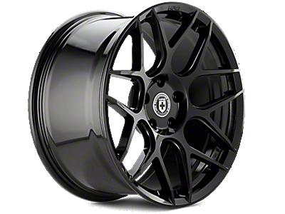 Liquid Black HRE Flowform FF01 Wheels<br />('10-'14 Mustang)