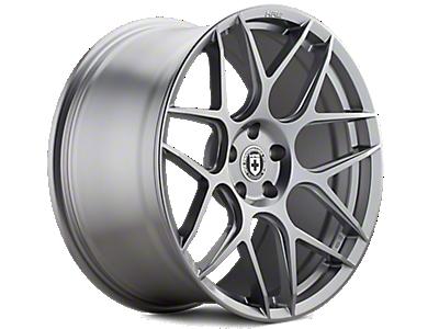 Liquid Silver HRE Flowform FF01 Wheels<br />('10-'14 Mustang)