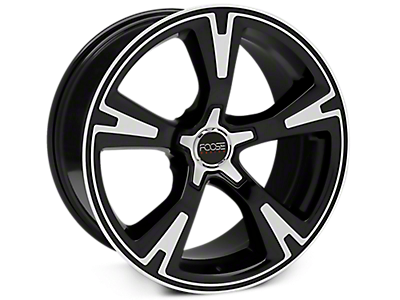 Machined Foose RS Wheels<br />('10-'14 Mustang)