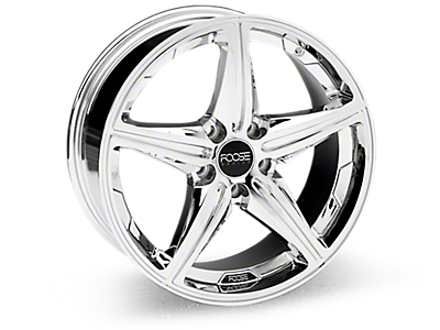 Chrome Foose Speed Wheels<br />('10-'14 Mustang)