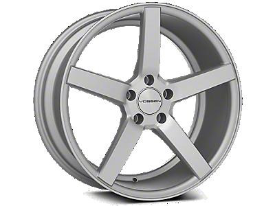 Metallic Silver Vossen CV3-R Wheels<br />('10-'14 Mustang)