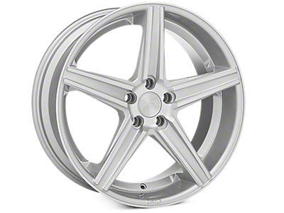 Machined Silver Niche Apex Wheels<br />('10-'14 Mustang)