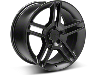Matte Black 2010 GT500 Style Wheels<br />('99-'04 Mustang)