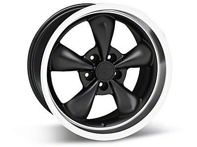 Matte Black Bullitt Wheels<br />('10-'14 Mustang)
