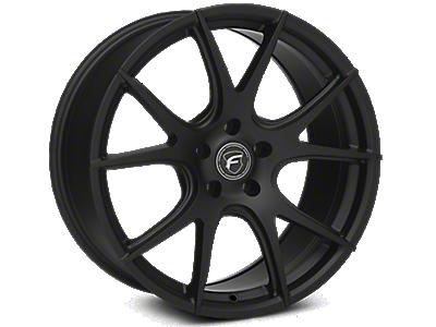 Matte Black Forgestar CF5V Monoblock Wheels<br />('15-'19 Mustang)
