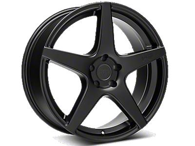 Matte Black Niche GT5 Wheels<br />('05-'09 Mustang)
