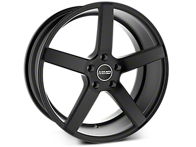 Matte Black MMD 551C Wheels<br />('15-'17 Mustang)